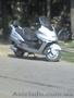 макси скутер стального цвета 150 куб очень большой двухместньій круизер класс
