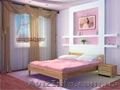 Кровать Рената из клееного щита