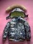Продам детскую куртку-пуховик и комбинезон на мальчика